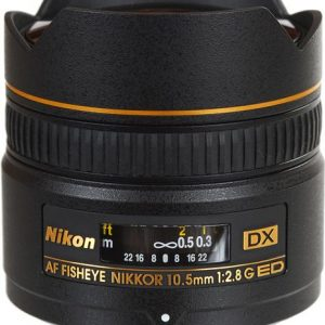 Nikon 10.5MM F2.8G AF DX IF-ED FISHEYE-NIKKOR