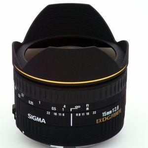 Sigma 15mm f/2.8 EX DG FISHEYE DIAGONAL