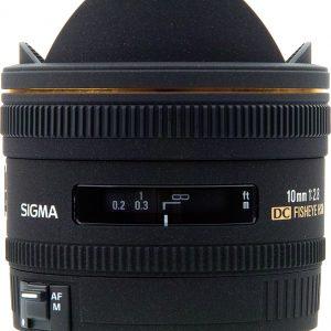 Sigma 10mm f/2.8 EX DC FISHEYE