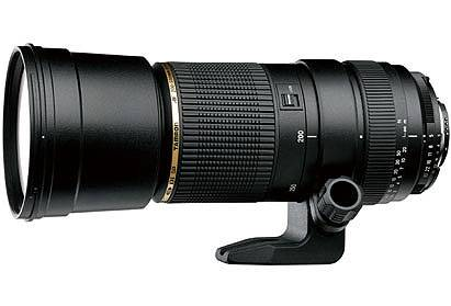 Tamron A08 SP 200-500mm f/5-6.3 Di Lens for Canon
