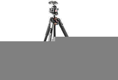 Manfrotto MK190XPRO3-BH New 190 Aluminium 3-Section Kit with Bal