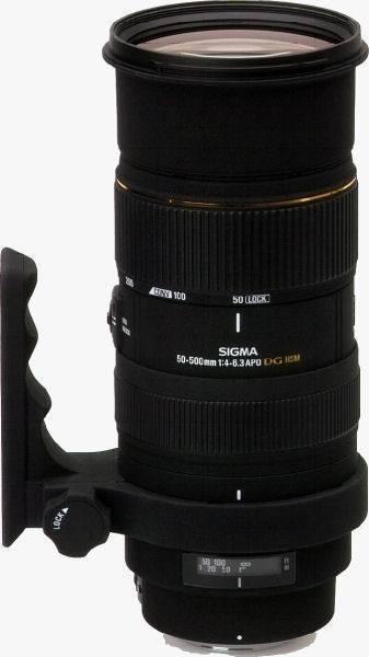 Sigma 50-500/4-6.3 APO EX DG HSM Lens for Sony
