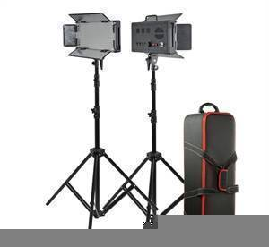 Godox LED500 Two Light LED Kit-0
