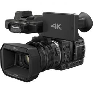"""Panasonic HC-X1000 4K Ultra HD Camcorder:4K & Full HD 60p/50p with Mobility and 20x Optical Zoom,High-Bit-Rate Recording for 4K and Full-HD,2 SD Card Slots & 2 XLR Inouts,HDMI 2.0,3.5""""Retractable LCD 1152K-dot with Touch Operation,WiFi with NFC Technology-0"""