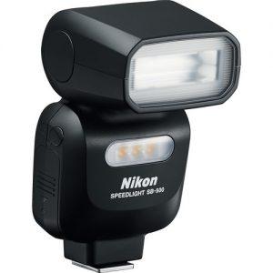 Nikon SB-500 Speedlight (GUIDE NR= 24/ 24MM COVERAGE) -0
