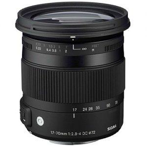 Sigma 17-70/2.8-4 DC MACRO OS HSM Lens for Canon - CONTEMPORARY-0