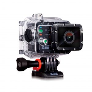 """AEE S51 Magicam Action Camera:16 MP,1080p 30fps Video Quality,155 Degrees Wide Angle,100m Waterproof Case,Wifi Enabled,G-sensor,2"""" Detachable LCD Screen,1500MAH Battery,3 Hours Battery Life-0"""