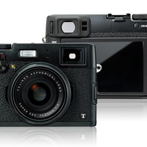 "Fujifilm Finepix X100T:16.3 Megapixels, 23mm F2 Single Focal Length Lens,3"" LCD (1040k dot),APS-C ""X-Trans CMOS II Sensor,ISO 51200,New Hybrid Viewfinder,Electronic Shutter 1/32000 seconds,Camera Remote App feature via Wifi-0"