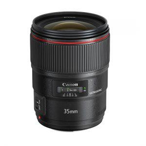 Canon EF 35mm f1.4 L MK II USM Lens-0