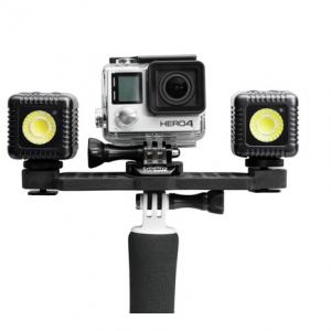 Lume Cube GoPro Kit - 2 Lume Cubes + GoPro Dual Mount Arm-0
