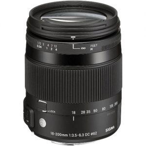 Sigma 18-200mm f/3.5-6.3 DC Macro OS HSM Contemporary Canon-0