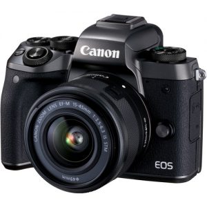 Canon EOS M5, EF-M 15-45mm and Lens Black (On Line Only)-0