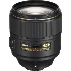 Nikon 105mm f/1.4E ED AF-S Nano Crystal Coat Lens (On-Line Only)-0