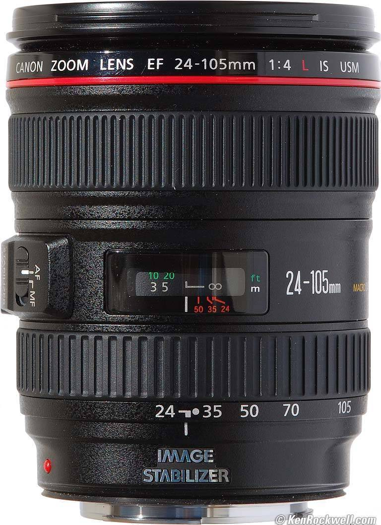 Canon EF 24-105mm F4 L IS MKII USM LENS