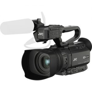 JVC GY-HM200SPU Handheld 4K/HD camcorder, Wi-Fi/FTP with Sports Graphics-0