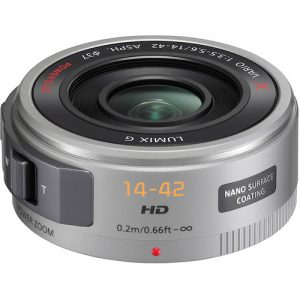 Panasonic Lumix G X Vario PZ 14-42mm f/3.5-5.6 Power O.I.S. Lens for JVC Pro Video Camera-0