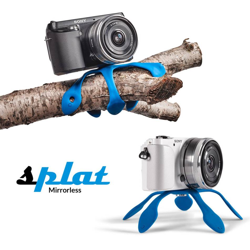 Miggo Splat Flexible Tripod for P&S and Mirrorless Cameras