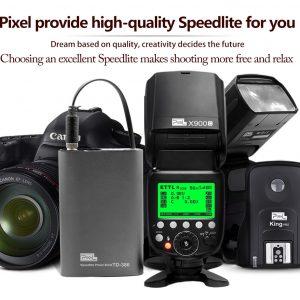 Pixel X900 Speedlite & Trigger Kit Canon -0
