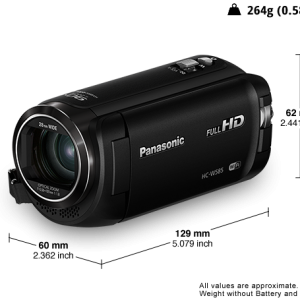 Panasonic HC-W585 HD Camcorder-0