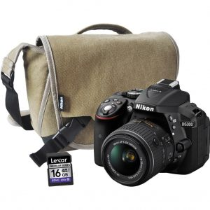 Nikon D5300 BODY+18-55MM AF-P VR +CARD+S/BAG (On-Line Only)-0