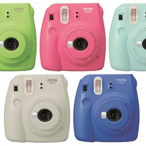 Fuji Instax Mini 9 Smoky White-0