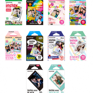 Fuji Instax Film 4 Packs of 10 Film minimum order .-0