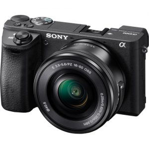 Sony Alpha a6500 Mirrorless with 16-50mm Lens -0