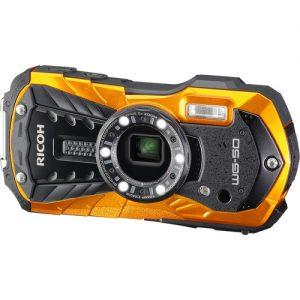 Ricoh WG-50 Digital Camera Orange/Black-0