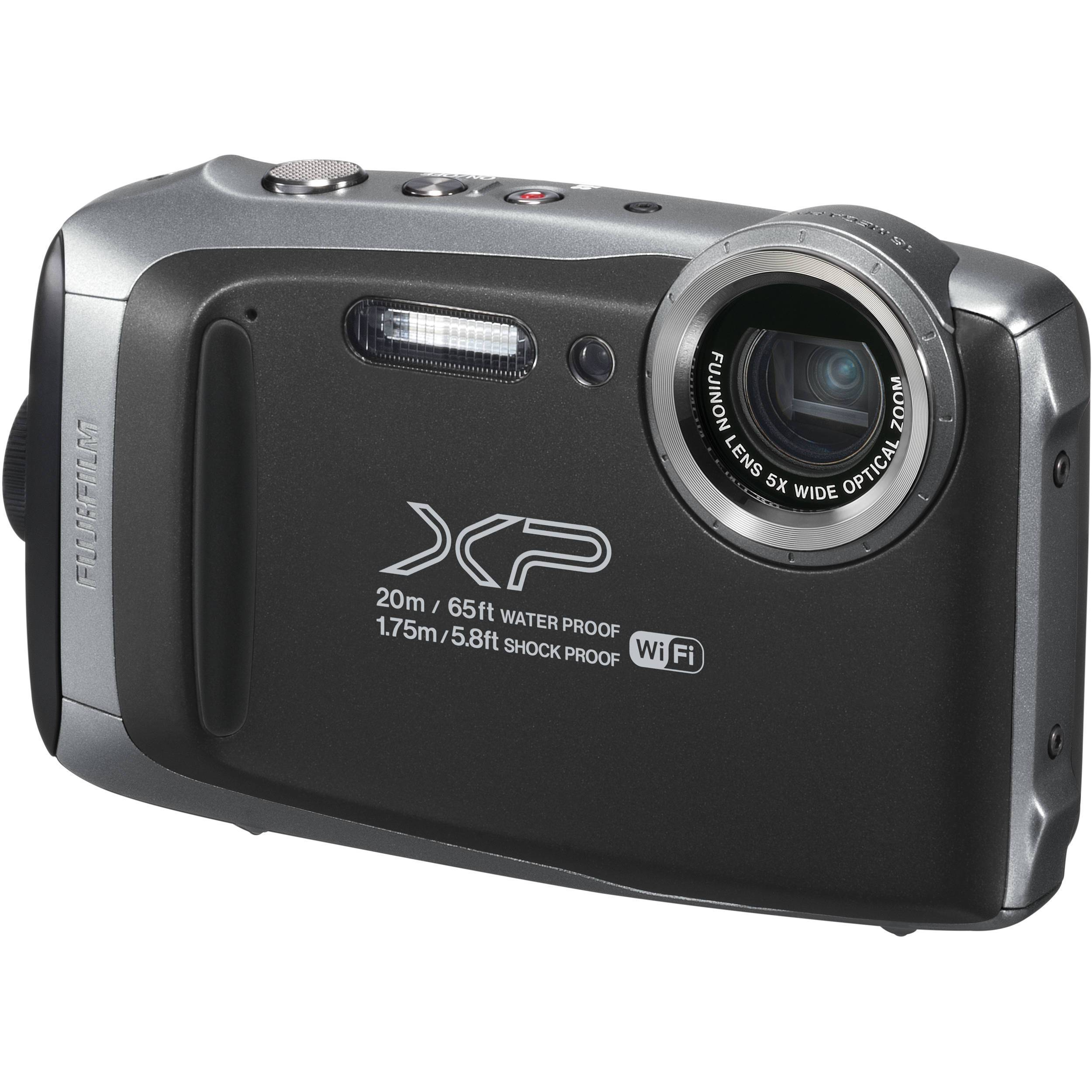 Fujifilm FinePix XP130 Digital Camera (Silver Grey) FREE DELIVERY