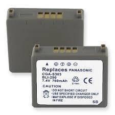 PANASONIC CGA-S303 Battery-0